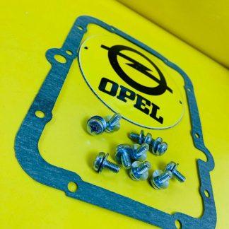 NEU Dichtung Getriebedeckel incl Schrauben Opel CiH 3 + 4 Gang Getriebe Deckel