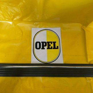 GEBRAUCHT + ORIGINAL Opel Ascona C Schutzzierleiste Hintertür rechts grau