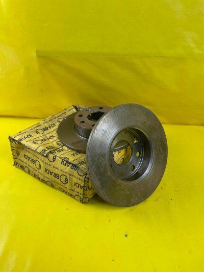 NEU Satz Bremsscheiben vorne Opel Corsa A Kadett E 236x10