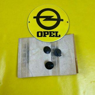 NEU + ORIGINAL Opel Kadett E Clip Satz Teppich Kofferraum Befestigung Rückwand