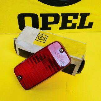 NEU + ORIG Opel Manta B Ascona B Glas für Nebelschlussleuchte Nebelleuchte