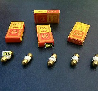5x BOSCH Keramiksicherungen Porzellansicherung 25 40 Ampere Amp Vorkrieg ?