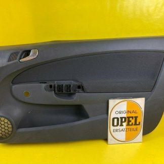NEU + ORIGINAL Opel Corsa D Türverkleidung Türpappe Innenausstattung door panel