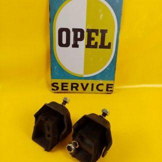 NEU + ORIG Opel Ascona Manta A 1,6 +1,9 GTE Paar Motorblöcke Motorlager re + li
