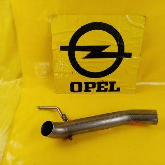 NEU ORIG GM Opel Astra J Schrägheck 1,7 Diesel Abgasrohr Auspuff Endrohr hinten