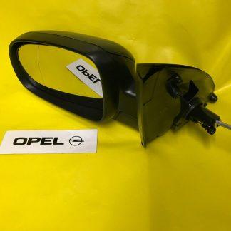 NEU Aussenspiegel links Opel Corsa C + Combo schwarz kpl mit Glas und Abdeckung