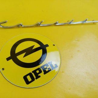 NEU + ORIGINAL Opel Kadett A Limousine Coupe Schriftzug auf Kofferdeckel