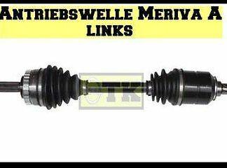 OHNE PFAND NEU Antriebswelle links kpl Opel Meriva A 1,4 + 1,6 L inkl ABS Ring