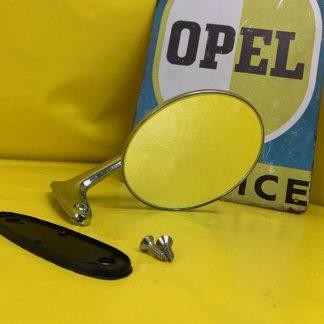 NEU + ORIGINAL Chrom Spiegel Opel | Rekord C | Commodore A | Kadett B Oly A | GT