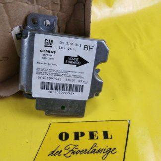 NEU + ORIGINAL Opel Astra G Zafira A Steuergerät Airbag / Gurtstraffer
