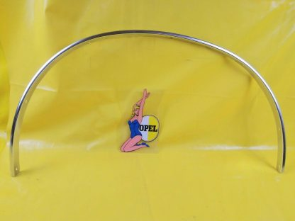 NEU + ORIGINAL Opel Ascona B Zierleiste Radlauf Chrom vorne rechts