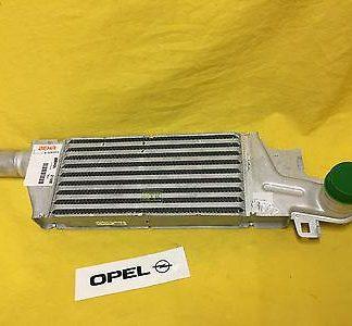 NEU + ORIG Opel Ladeluftkühler Corsa C 1,7 CDTi Diesel mit 75 PS DTi Turbokühler