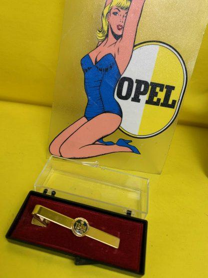 ORIG OPEL Krawatten Klammer Opel Team Krawattenklammer Ansteckklammer 1979 1988
