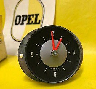 NEU + ORIGINAL Opel Uhr im Tacho Rekord C Commodre C Zeituhr KIENZLE KLEIN 60mm