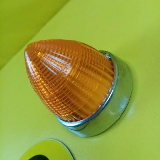 NEU + ORIGINAL Opel Blitz Blinker Glas Chrom Orange Dichtung
