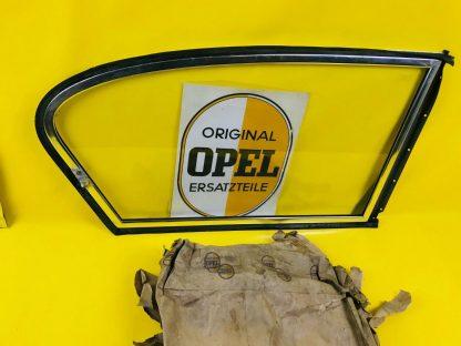 NEU ORIGINAL OPEL Olympia Rekord P1 / 2türige Limousine Ausstellfenster Scheibe