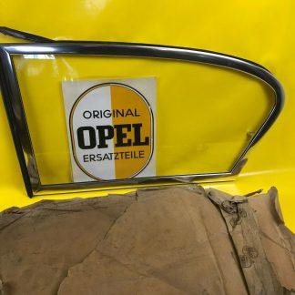 NEU + ORIGINAL OPEL Olympia Rekord P1 2-türige Limousine Ausstellfenster Scheibe