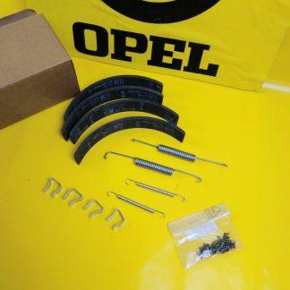 NEU + ORIGINAL Opel Kadett A B C Bremse Hinterachse Satz Bremsbeläge