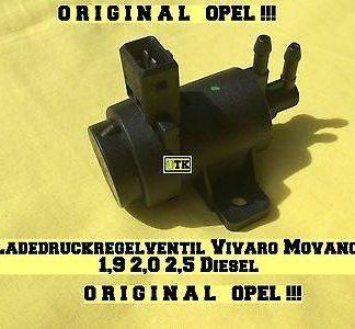Opel Druckwandler Ladedruckregelventil Ventil Vivaro Movano 1,9 2,5 2,0 CDTi TD