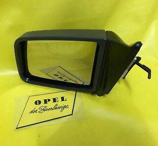 NEU Opel Kadett E + Combo auf Kad.E Basis Außenspiegel links grau antrazhit Glas
