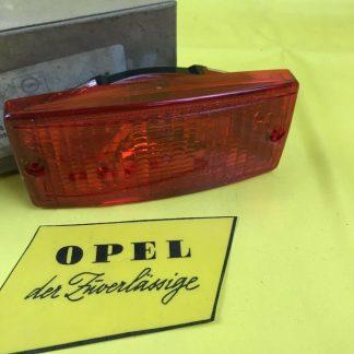 NEU + ORIG Opel Kapitän Admiral Diplomat B Glas Nebelschlussleuchte Nebellampe