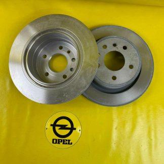NEU + ORIGINAL Opel Omega B Satz Bremsscheiben hinten 286 x 20 Bremsscheibe