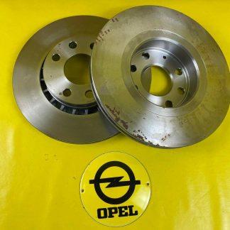 NEU + ORIGINAL Opel Vectra A Astra F Corsa B Bremsscheiben Satz vorne