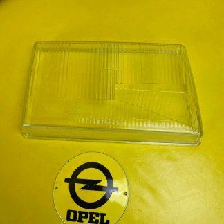 NEU + ORIGINAL Opel Rekord E Streuscheibe Glas Rechts Scheinwerfer