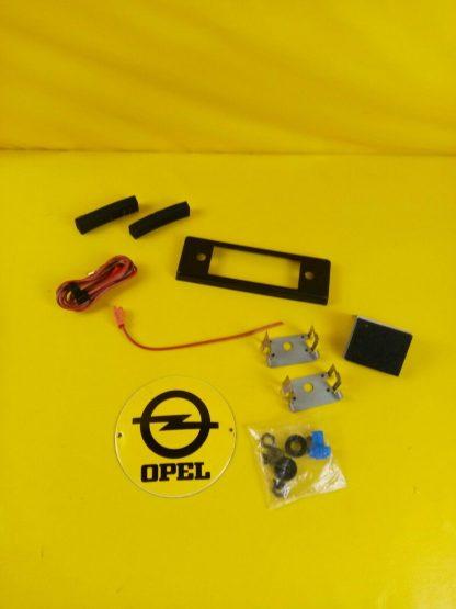 NEU + ORIG Opel Monza Senator Rekord E Commodore C Kadett D Radio Blende Kabel
