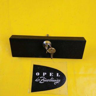NEU + ORIG Opel Radio Abdeckblende abschließbar Blende Autoradio Diebstahlschutz