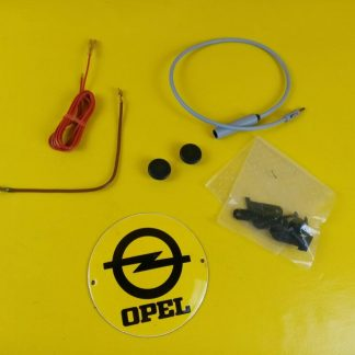 NEU + ORIGINAL Opel Universal Radio Kleinteile Zubehör Satz Knöpfe Kabel Halter