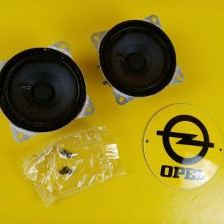 NEU + ORIG GM Opel Kadett E Satz Lautsprecher Hecklautsprecher hinten Schrägheck