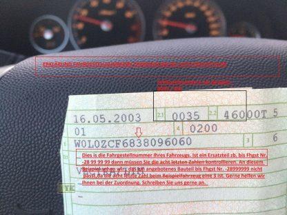 NEU Tachowelle Opel Frontera A 2-türer 1268314 / GM 91140275 Länge 2540 mm