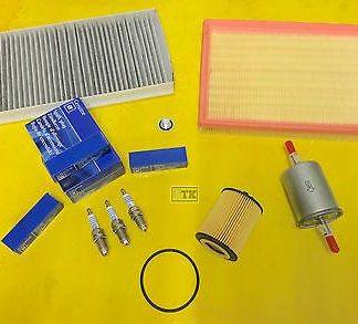 OPEL 7-teilig Inspektionskit Corsa C 1,0 m. 58PS + 60 PS Z10XE Z10XEP Filter NEU