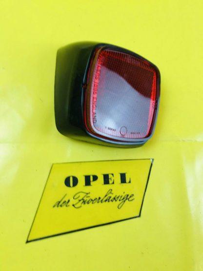NEU + ORIG Opel Bedford Blitz Rückstrahler links Reflektor Stoßstange Rücklicht