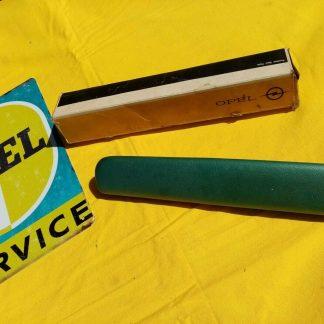 NEU + ORIGINAL Opel Rekord A / B Armlehne Polster grün metallic Türgriff