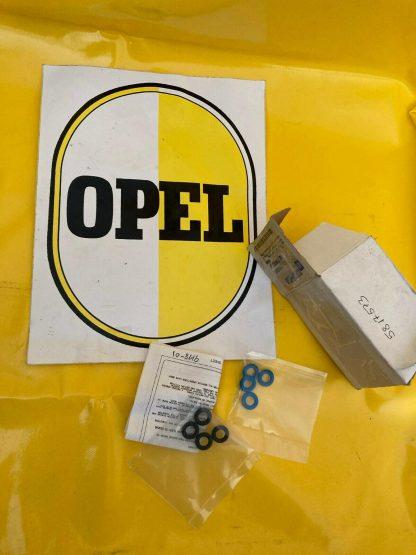 NEU + ORIGINAL Opel Dichtsatz Einspritzventil Z22SE Vectra B Astra G Zafira A