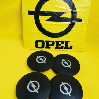NEU + ORIG GM Opel Kadett D SET Radkappen Felgendeckel Radkappen schwarz