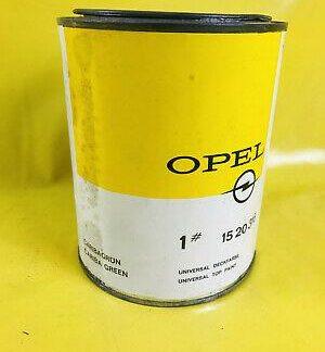 NEU ORIGINAL OPEL Oldtmerlack Farbe UNGEÖFFNET 1L Farbton Caribagrün Cariba grün