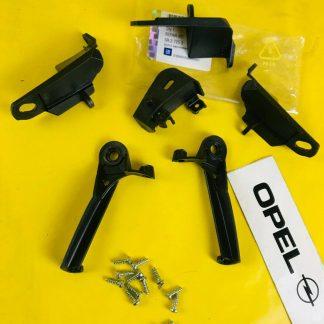 NEU + ORIGINAL GM / Opel Rep Satz Reparatursatz Halterungen Scheinwerfer Corsa D