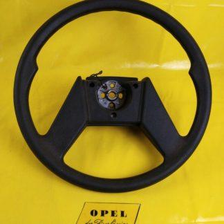 NEU + ORIGINAL GM Opel 2 Speichen Lenkrad schwarz Kadett D / E Astra F Corsa A