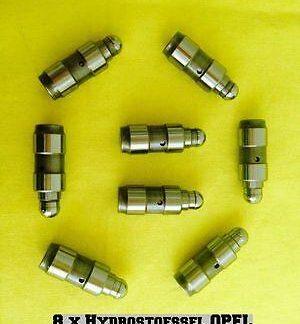 8x Opel Corsa C 1,0 L +1,2 L + 1,4 L // Hydrostößel VENTILSTOESSEL HYDRAULISCH