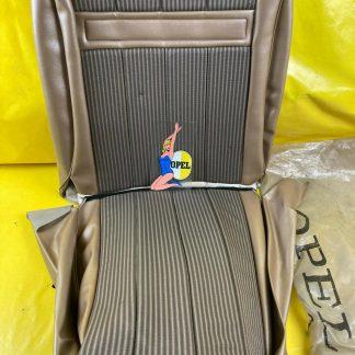 NEU + ORIGINAL Opel Rekord B Sitzbezug metallic gold evtl. Rekord A Polsterbezug