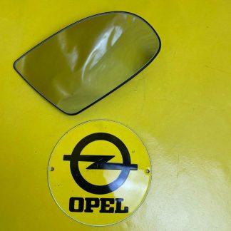 NEU + ORIGINAL Opel Corsa B Spiegelglas rechts Konvex Spiegel Glas