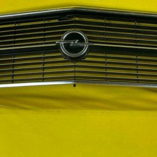 NEU + ORIGINAL Opel Rekord D Coupe Kühlergrill Kühlergitter Chrom Emblem