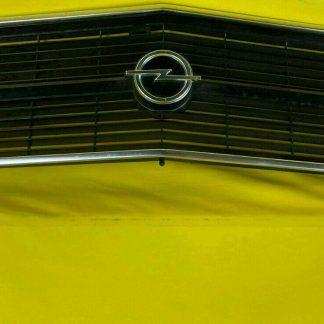 NEU + ORIGINAL Opel Rekord D 1,7 1,9 Kühlergrill Kühlergitter Chrom Emblem