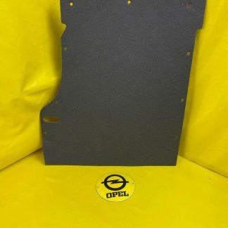 NEU + ORIGINAL GM / Opel Astra F Teppich Rückseite Rücksitzbank hinten Rücklehne