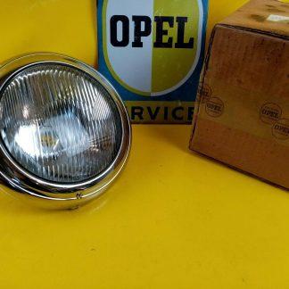 NEU ORIGINAL Opel Blitz Scheinwerfer kpl incl. Chromzierring Ring Zierring Chrom