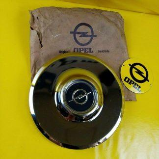 NEU + ORIGINAL Opel Admiral Diplomat A Radkappe Chrom 14 Zoll