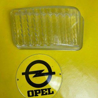 NEU + ORIGINAL GM / Opel Omega A Streuscheibe Glas Nebelscheinwerfer links